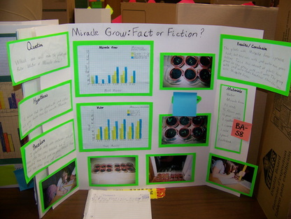 Past 3rd Grade Science Fair Projects